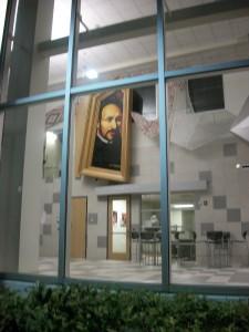 Art inside the Colin Powell Academy