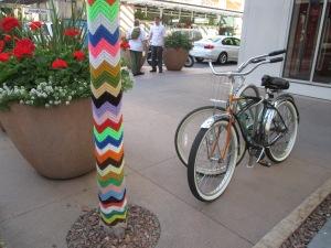 bikes and yarn in Scottsdale